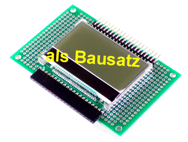 GraficLCD Add-On 128x64, Bausatz
