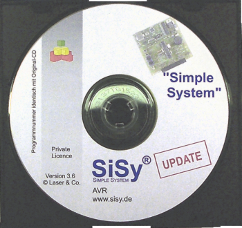 Update SiSy AVR von Version 3 auf 3.7; Private